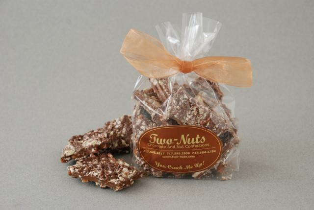 Chocolate Pecan Toffee